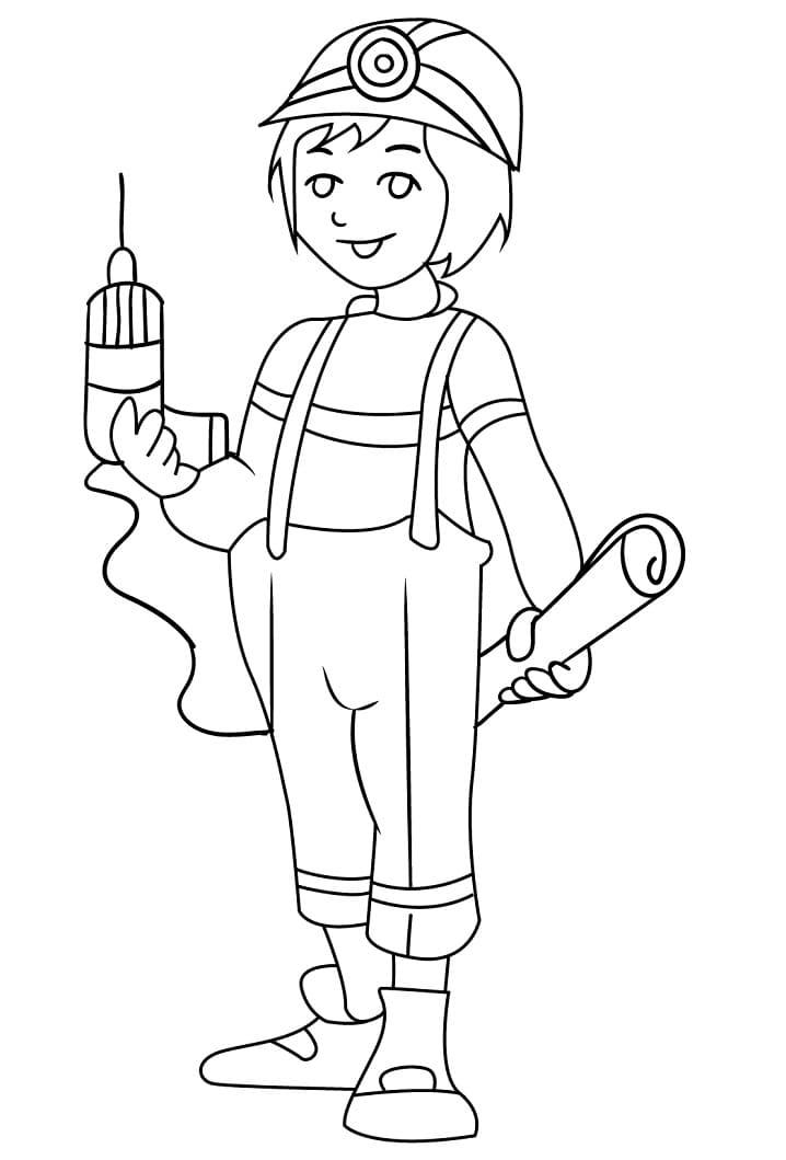 Girl Construction Worker 1