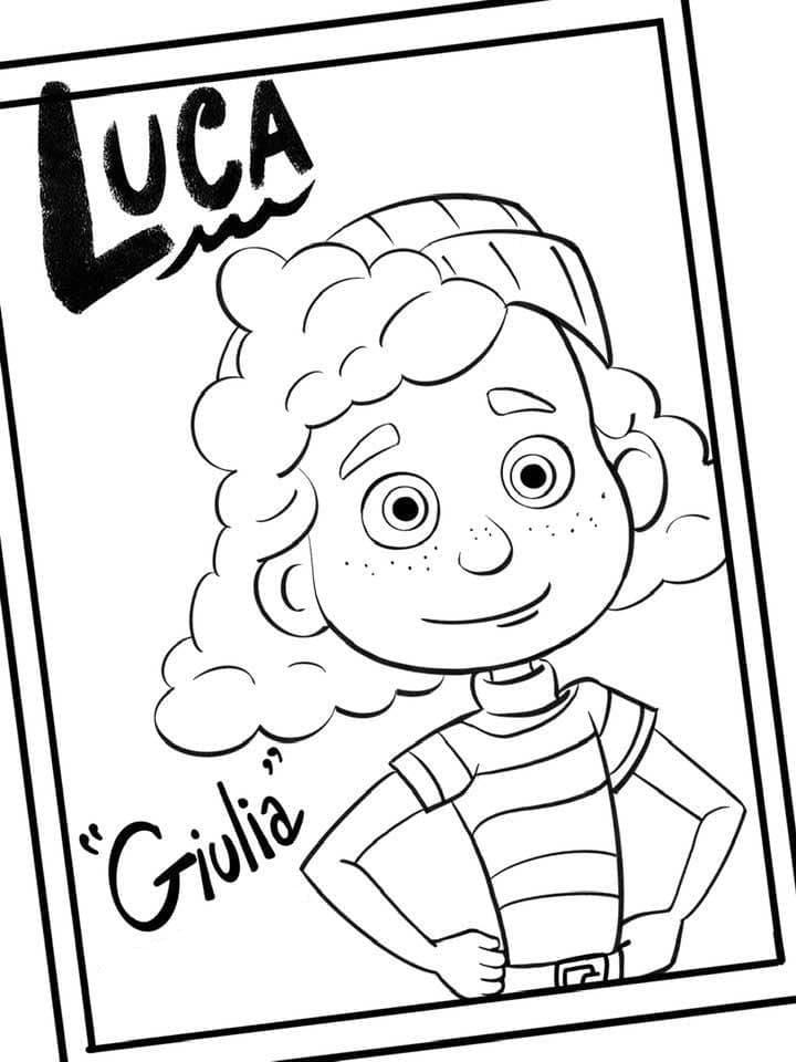 Giulia from Luca