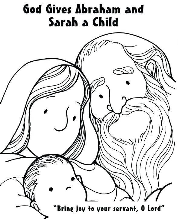 God Gives Abraham and Sarah A Child