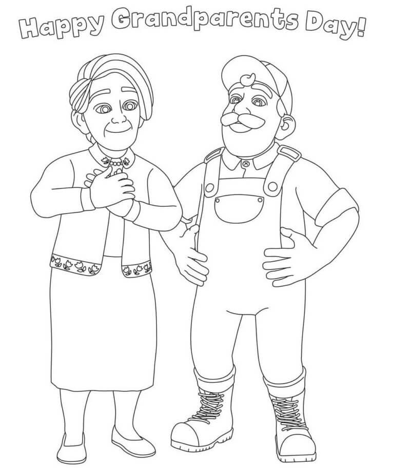 Grandma and Grandpa Cocomelon