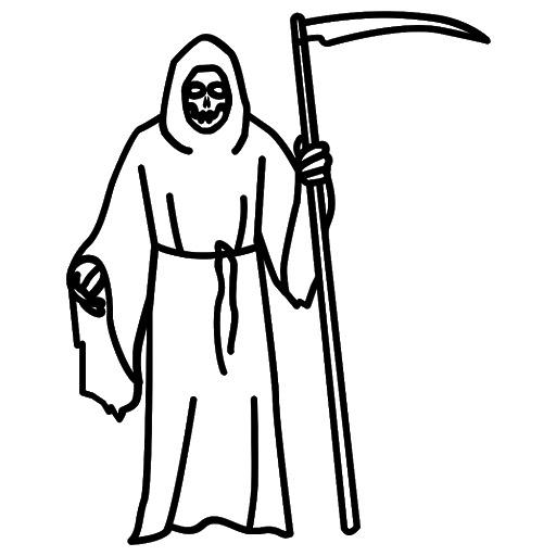 Grim Reaper Transparent