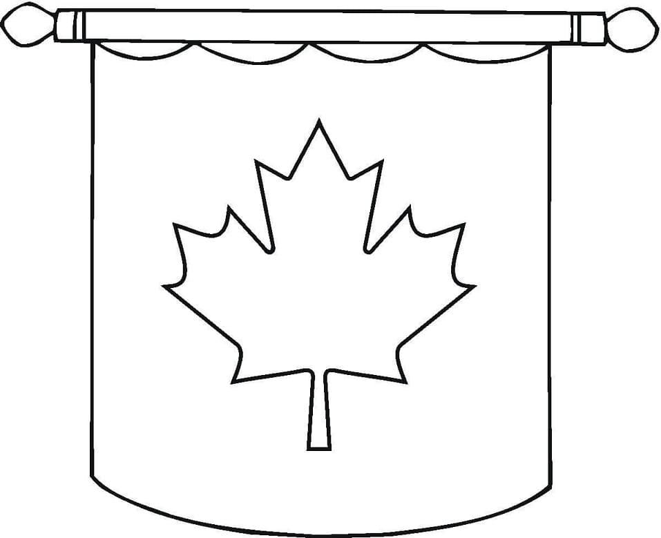 Hanging Canadian Flag