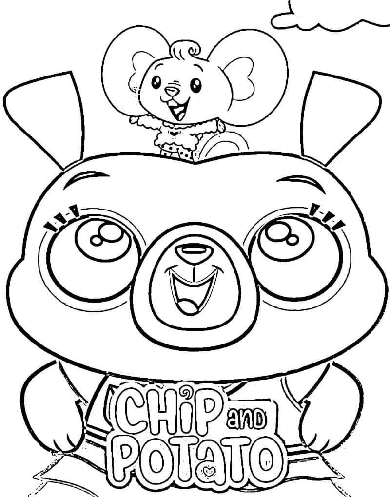 Happy Chip and Potato