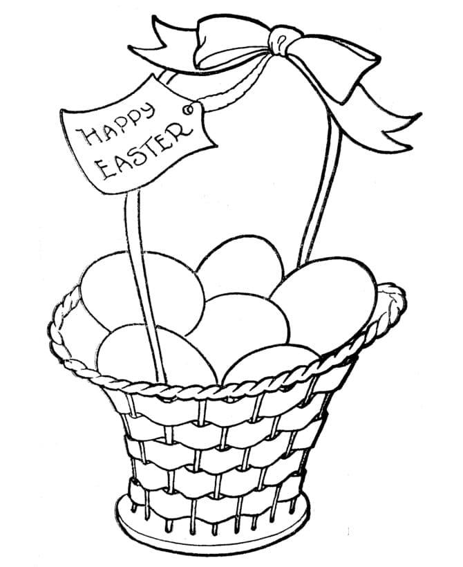 Happy Easter Basket 1