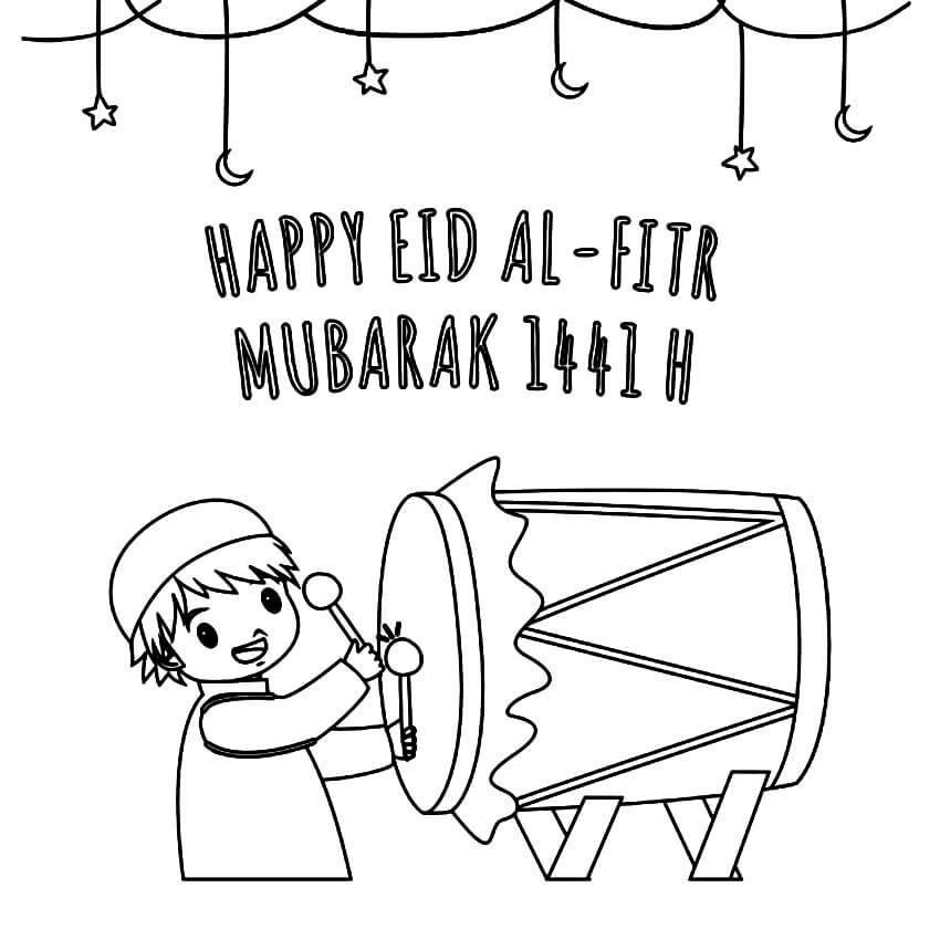 Happy Eid al-Fitr Mubarak