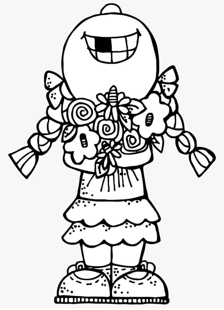Happy Girl Melonheadz