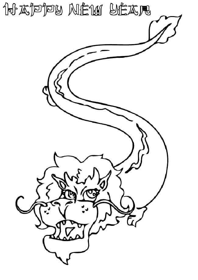 Happy New year Chinese Dragon