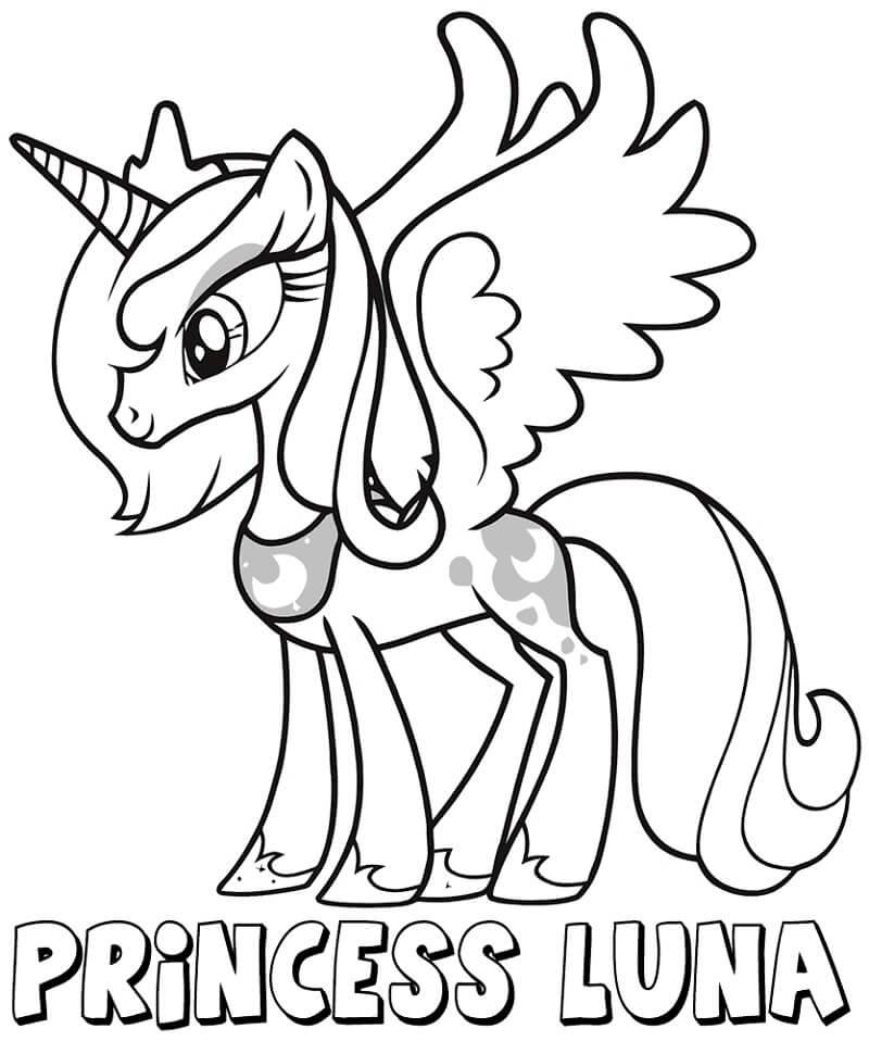 Happy Princess Luna