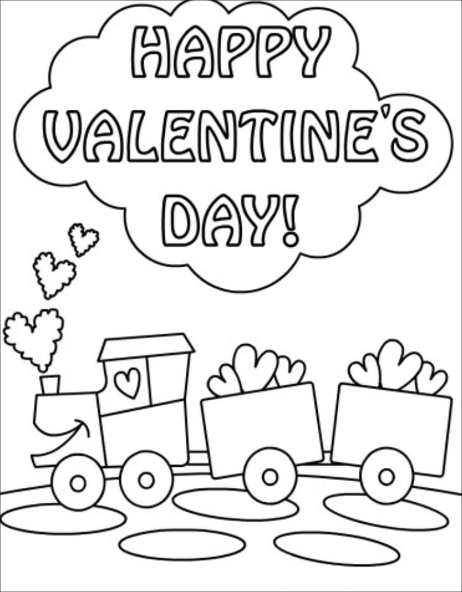 Happy Valentine with Train