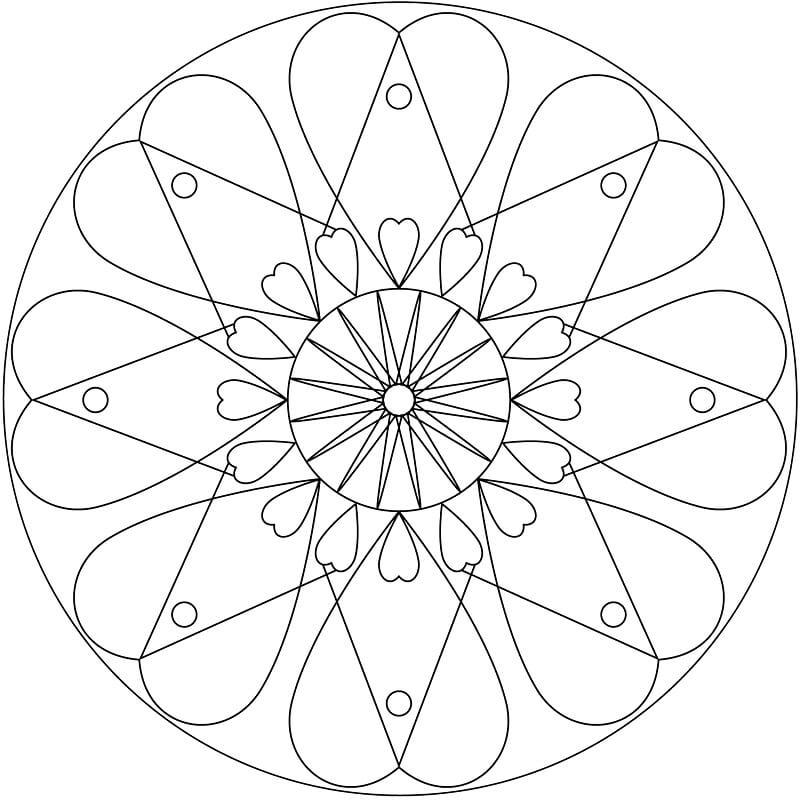 Heart Mandala 3