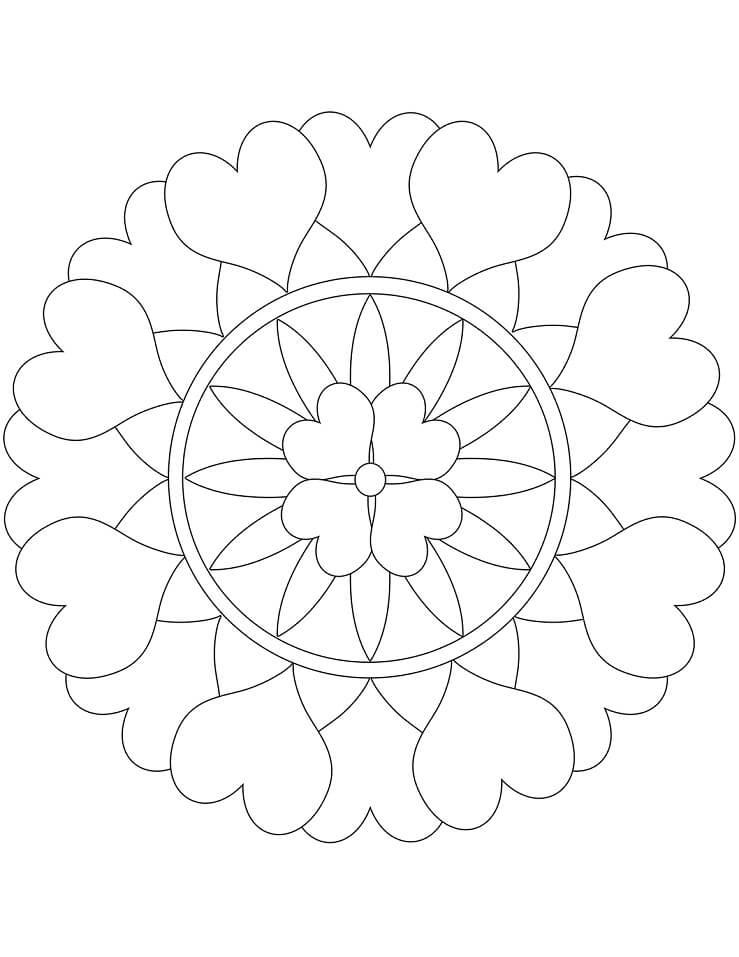 Heart Mandala 4