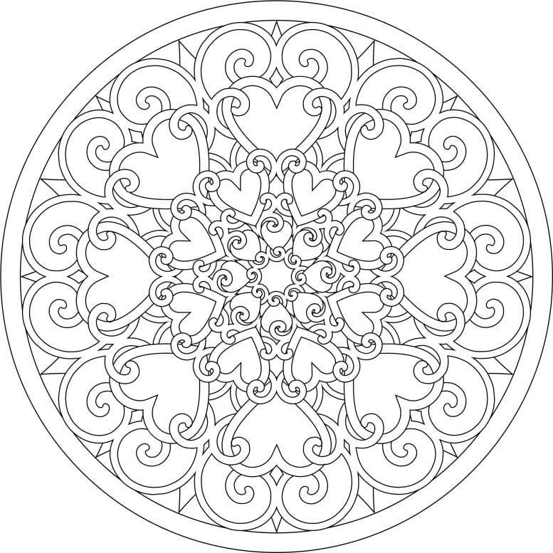Heart Mandala 5