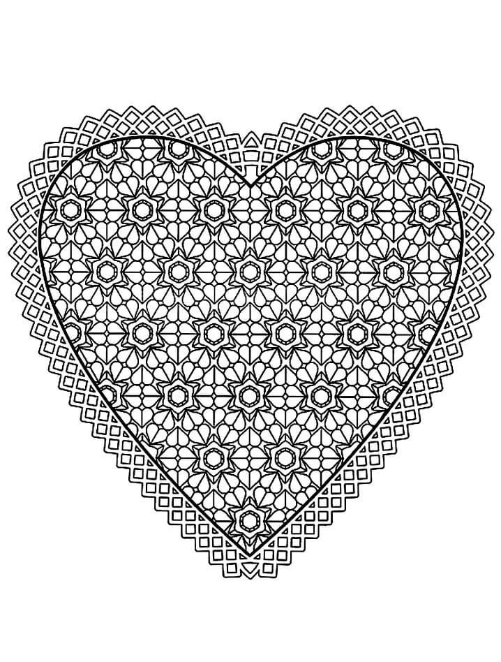 Heart Mandala 6