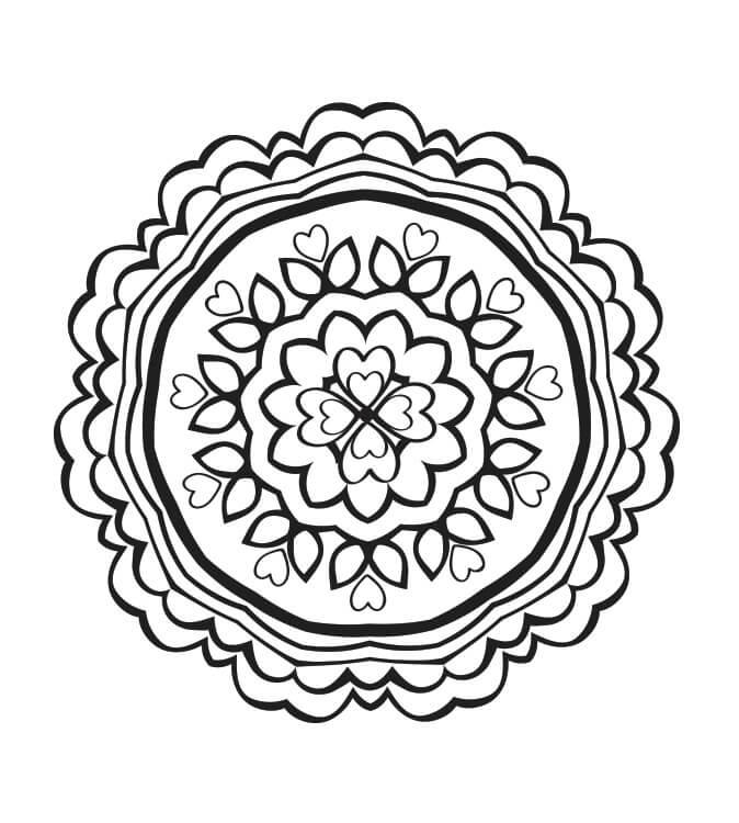 Heart Mandala 7