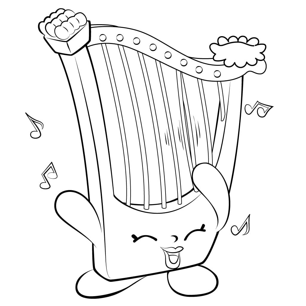 Hillary Harp Shopkin