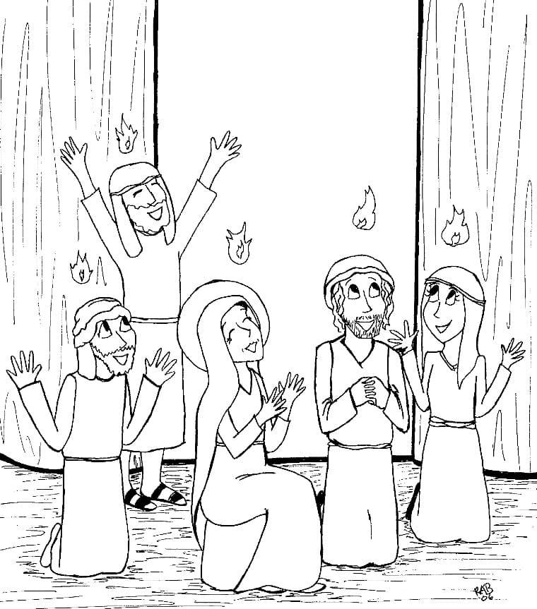 Holy Spirit at Pentecost