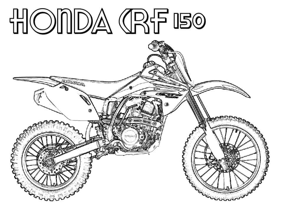 Honda CRF 150 Dirt Bike