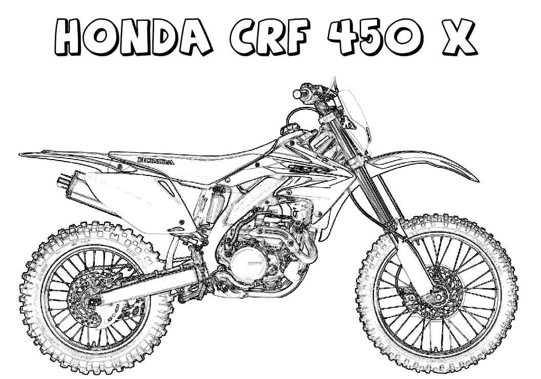 Honda CRF 450X Dirt Bike