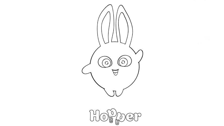 Hopper in Sunny Bunnies