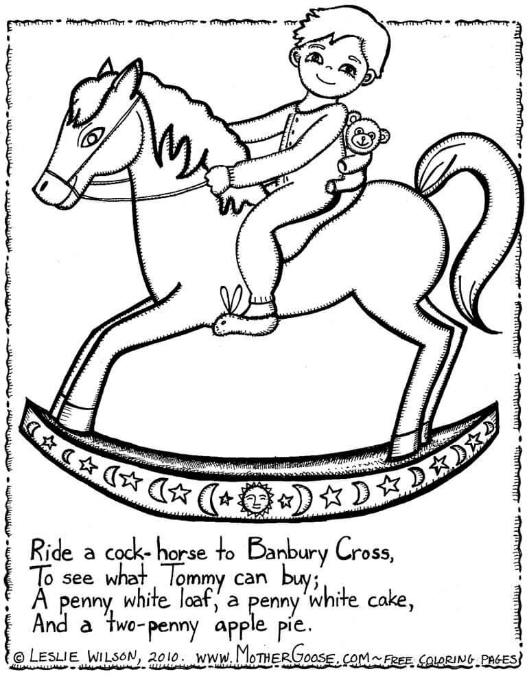 Horse Riding Nursery Rhymes