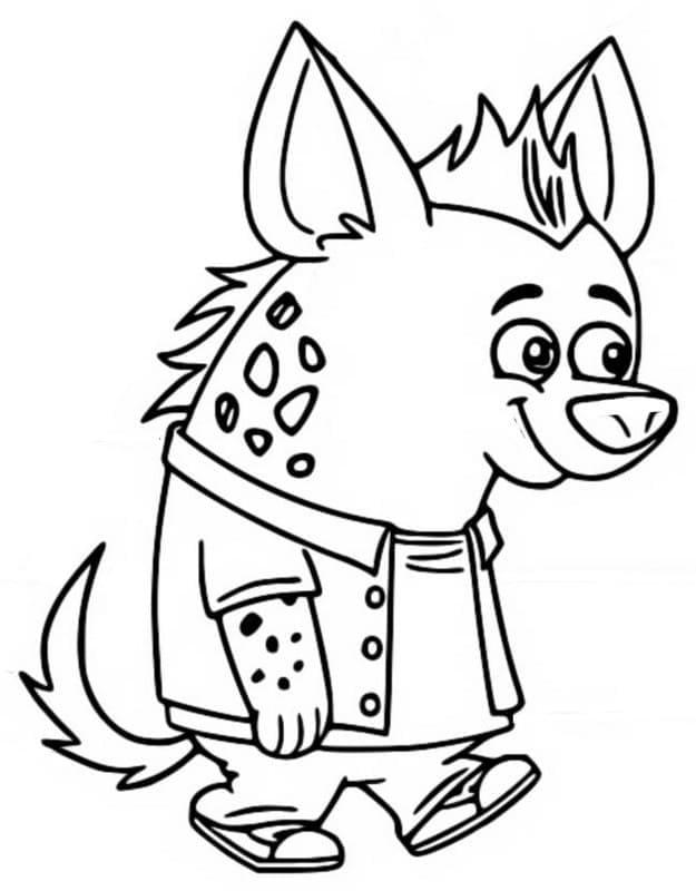Howie Hyena