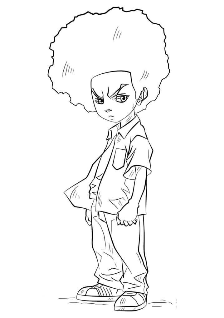 Huey Freeman from Boondocks