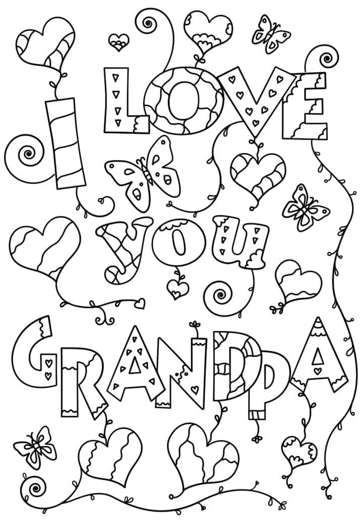 I Love You Grandpa