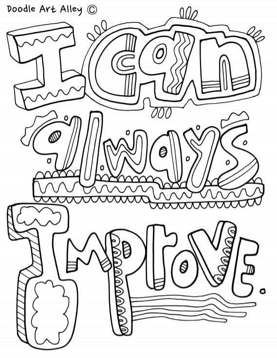 I can always improve