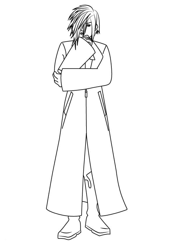 Ienzo from Kingdom Hearts