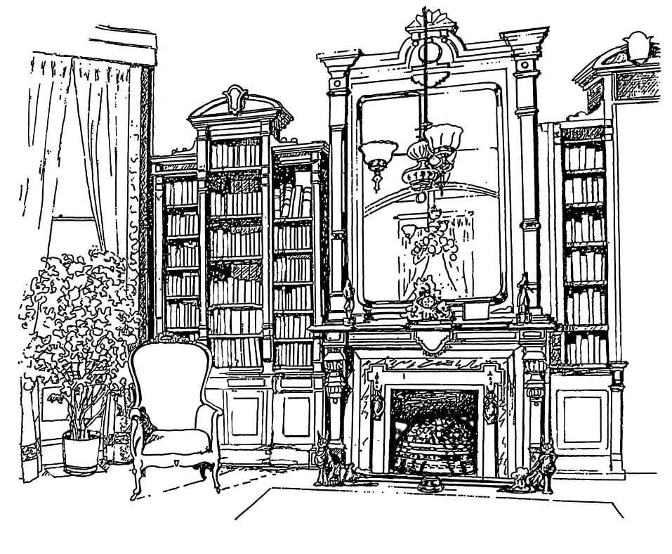Inside Old Mansion