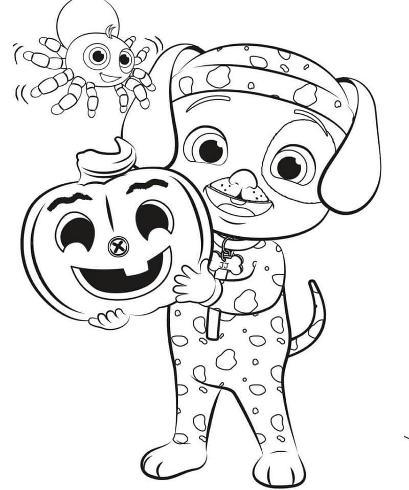 JJ Halloween Cocomelon