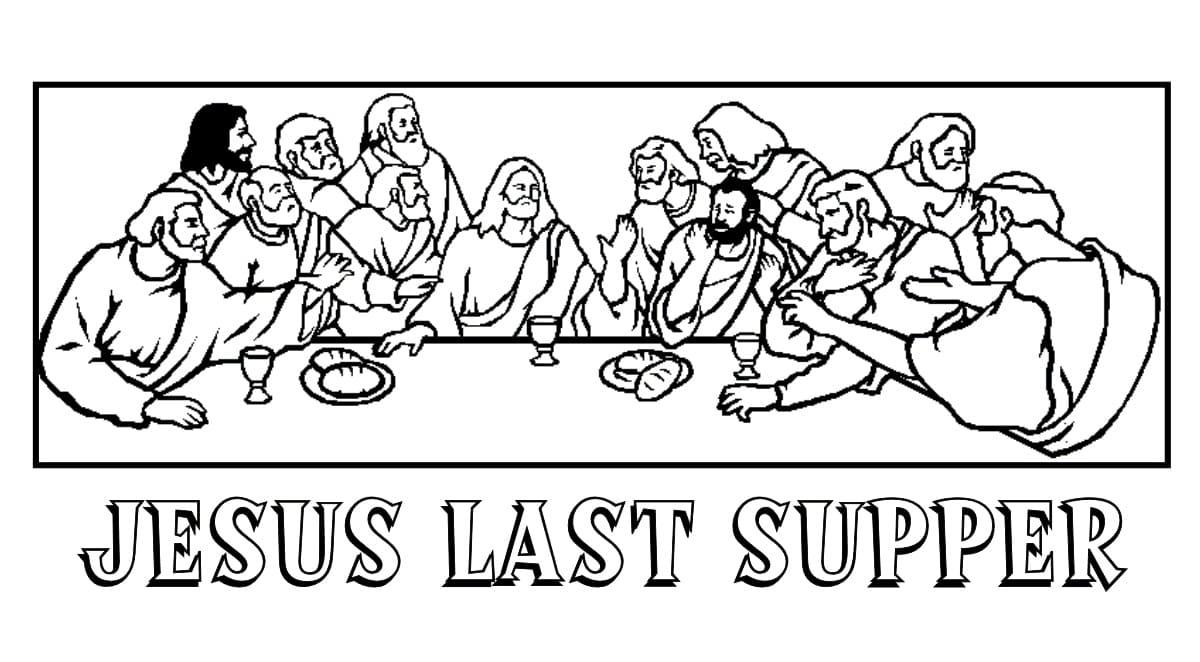 Jesus The Last Supper
