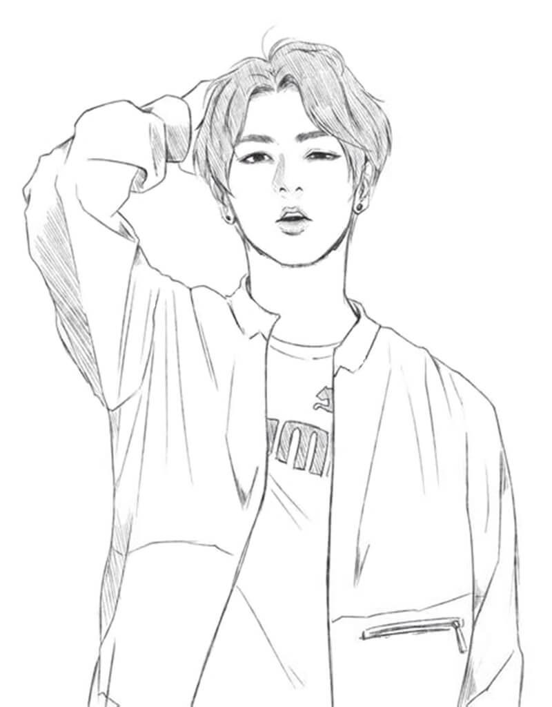 Jimin from BTS