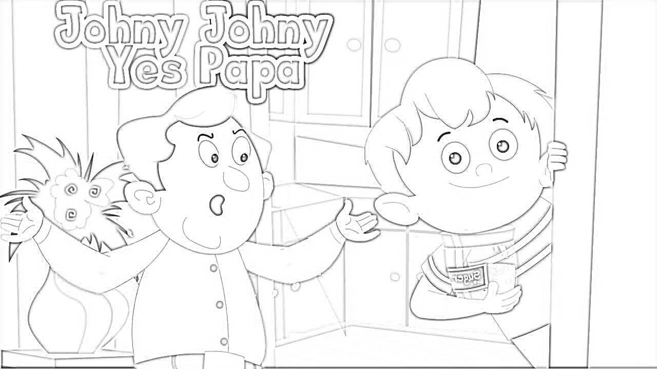 Johny Johny Yes Papa 4