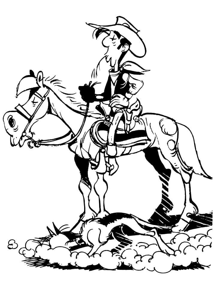 Jolly Jumper with Lucky Luke