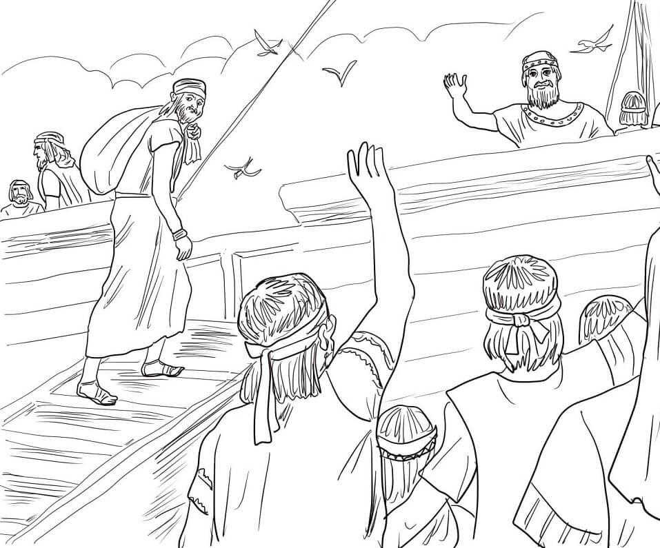 Jonah Runaway from God