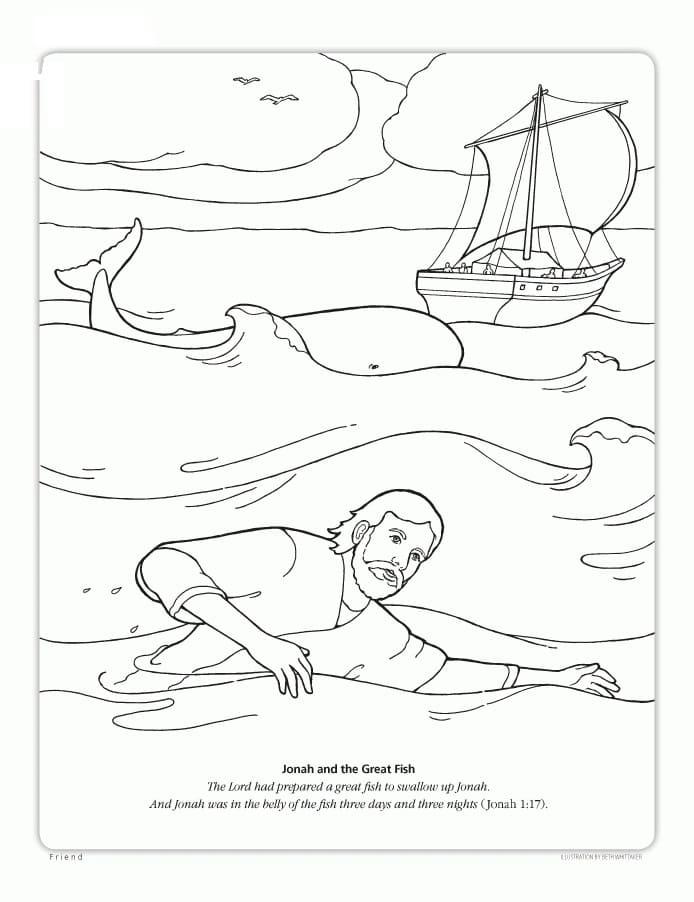 Jonah Swimming