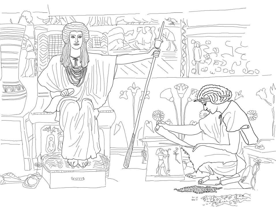 Joseph Overseer of Pharaoh's Granaries