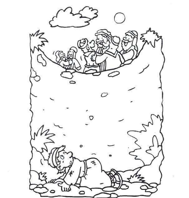Joseph Thrown in Pit