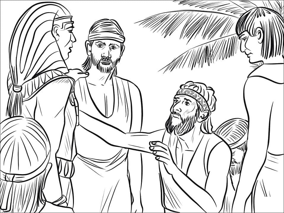 Joseph and Benjamin
