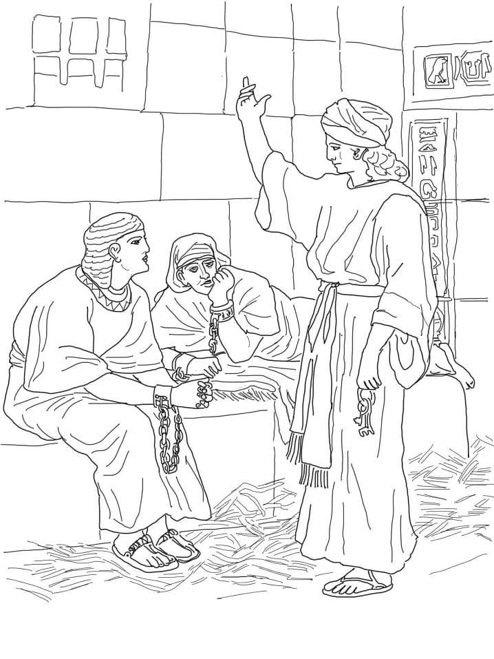 Joseph in Prison 1