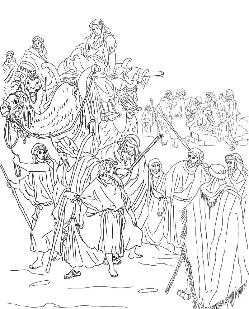 Joseph is Sold into Slavery