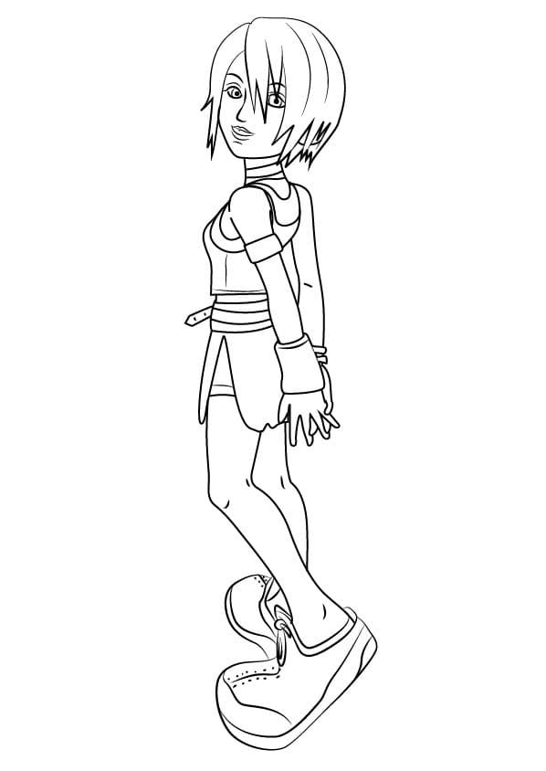 Kairi from Kingdom Hearts