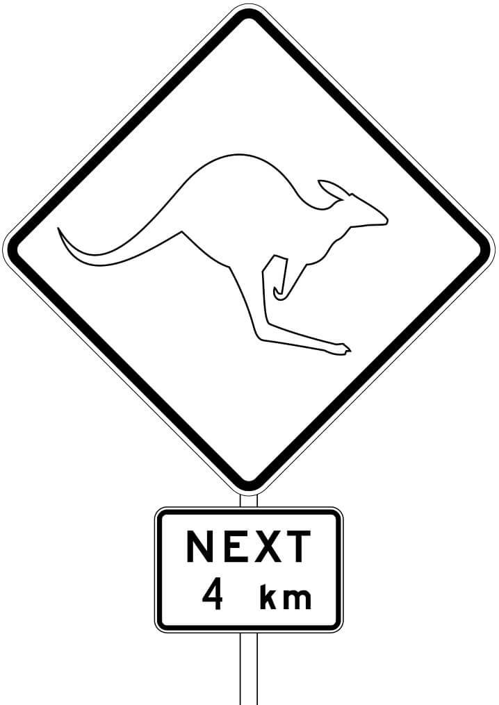 Kangaroos Sign