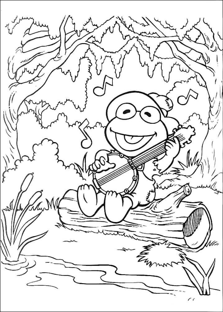 Kermit Sings A Song