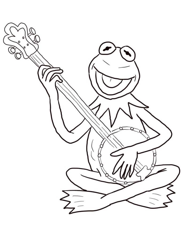 Kermit the Frog Playing Banjo