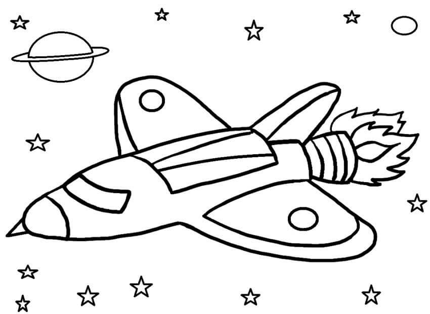 Kids Rocket Ship
