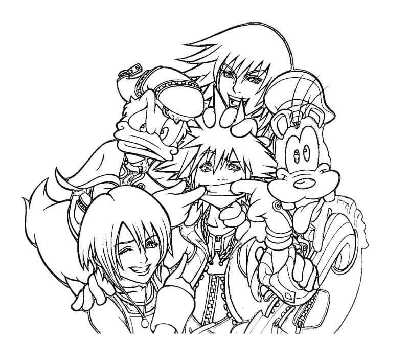 Kingdom Hearts Funny Characters