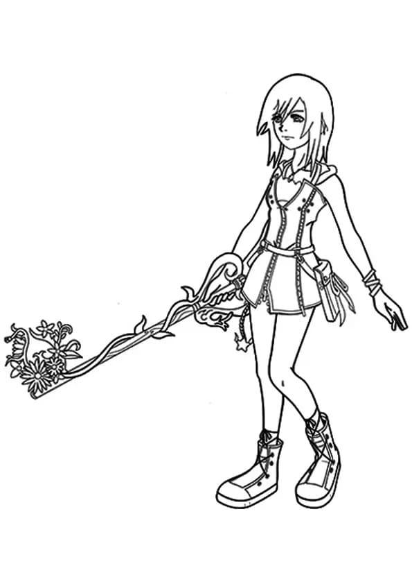 Kingdom Hearts Kairi