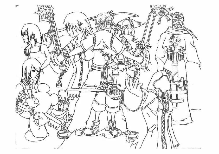 Kingdom Hearts Picture